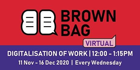 Brown Bag: Developing a Social Media Ecosystem to Digitise SME's Biz - SUSS tickets