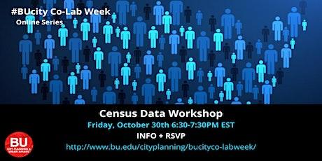 Census Data Workshop tickets