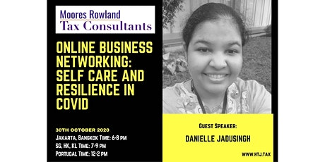 Global Online Business Networking: Self Care and Resilience in COVID tickets