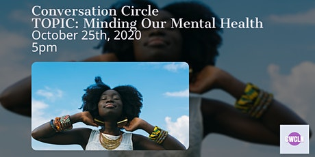 Conversation Circle: Minding Our Mental Health tickets