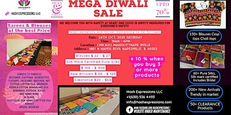 Mega Diwali Sale Oct 24th : Shashwath Silks by Hash Expressions tickets