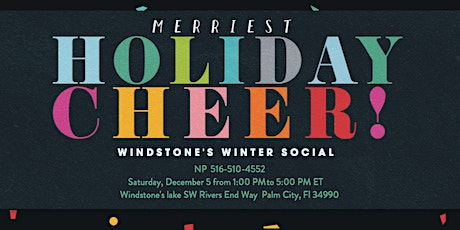 Windstone's Winter Social tickets