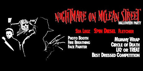 Nightmare on McLean Street - Halloween Dress Up Party tickets