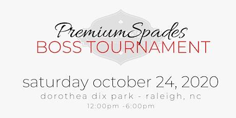 PremiumSpades Boss Tournament & Social tickets