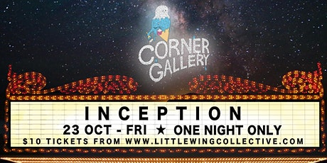 'Inception' - The Corner Gallery Secret Cinema tickets