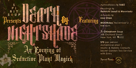 Death by Nightshade: an Evening of Seductive Plant Magick tickets
