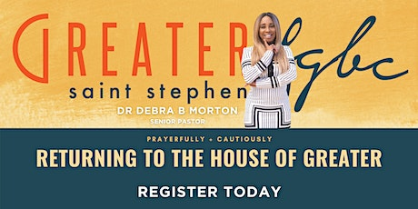 Returning To The House Of Greater tickets