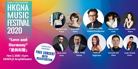 "HKGNA Music Festival 2020  ""Love and Harmony"" 「愛與和聲」 tickets"