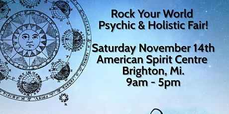 Rock Your World Psychic & Holistic Fair in Brighton! tickets