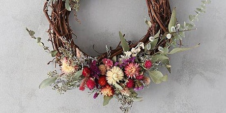 Create a  Dried Flower Christmas Wreath tickets