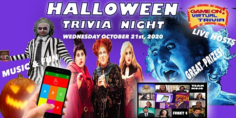 Halloween Music, Movie, pop culture  Fun Trivia w/ Live Host & prizes tickets