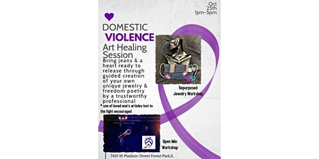 Domestic Violence Art Healing Session tickets