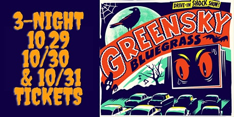 3-Night Pass HALLOWEEN w/ Greensky Bluegrass presented by AVL Music Hall tickets