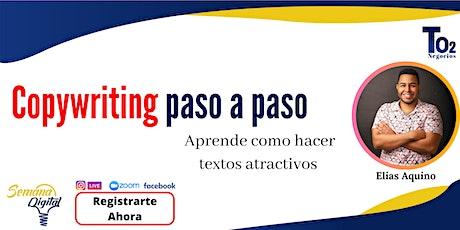 CopyWritting Paso a paso boletos