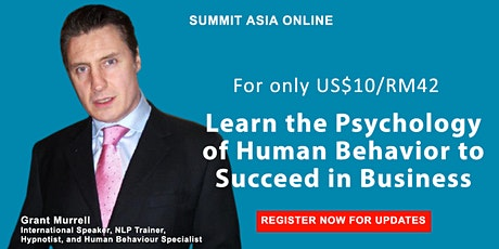 Uncover the Psychology of Human Behavior to Boost Any Business tickets