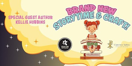 Storytime and Craft Launch with Special Guest Author Kellie Hobbins tickets