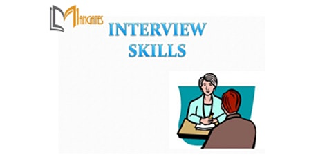 Interview Skills 1 Day Virtual Live Training in London City tickets