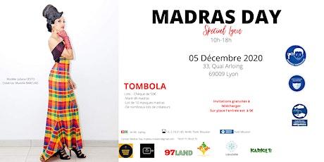 MADRAS DAY - SPECIAL LYON -  5 décembre 2020 billets
