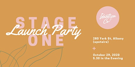 Ideation Co Stage One Launch tickets