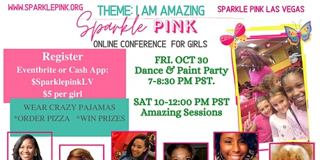 Sparkle Pink Virtual Conference tickets