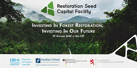 Investing in Forest Restoration, Investing in Our Future tickets