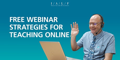 Free Webinar on Strategies for Teaching Online tickets