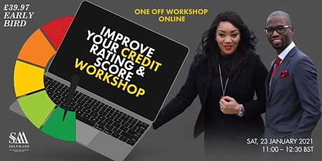 Improve Your Credit Rating & Score Workshop | LIVE tickets