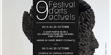 Festival d'Arts Actuels ile de Ré/OLéron billets