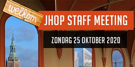 JHOP Staff meeting tickets