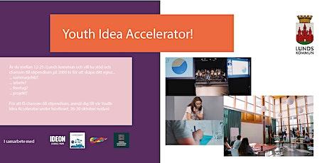 Youth Idea Accelerator: Höstlovsprogram för dig som vill utveckla en idé! biljetter