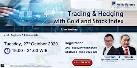 WEBINAR with RYAN FILBERT : Trading & Hedging with Gold and Stock Index tickets