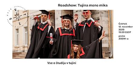 VTIS ROADSHOW: Vse o študiju v tujini tickets