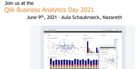 Qlik Business Analytics Day 2021 billets