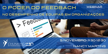 Webinar: O Poder do Feedback bilhetes