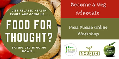 Eating Veg is going down - What can WE do about it? tickets