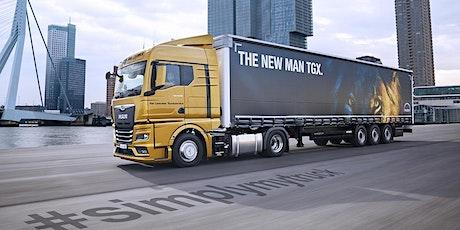 MAN DRIVER DAYS bij Van Leeuwen Truckservice Maasdijk tickets