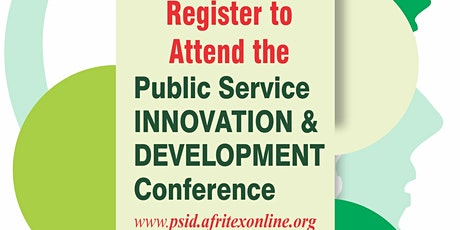 Public Service Innovation and Development Conference tickets