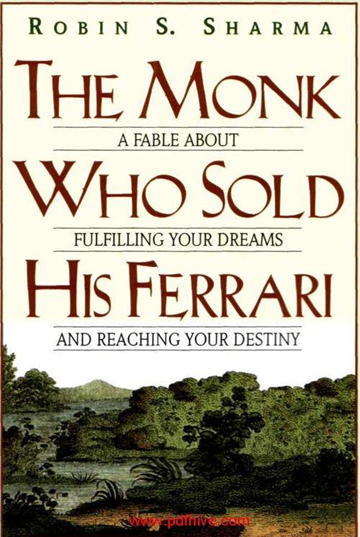 Book Review & Discussion : The Monk Who Sold His Ferrari image