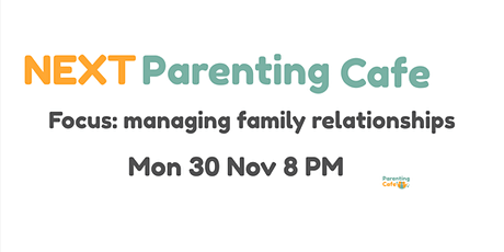November's Online Parenting Cafe tickets
