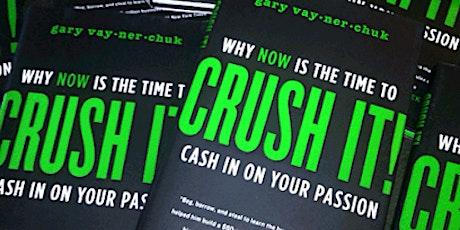 Book Review & Discussion : Crush It! tickets