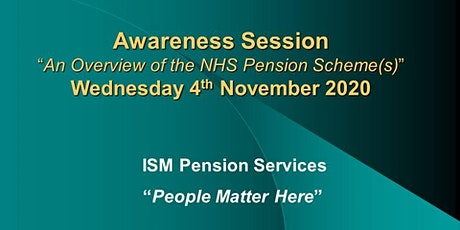AN OVERVIEW OF THE NHS PENSION SCHEME(s) tickets