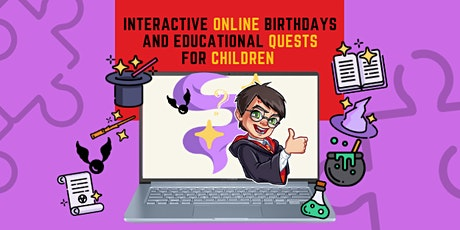 Wizards Online Quest for English learners (for ages 10-14) tickets