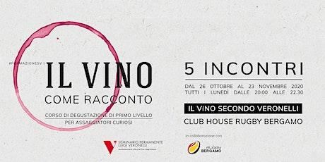 Il vino secondo Veronelli | IL VINO COME RACCONTO | Corso di primo livello biglietti
