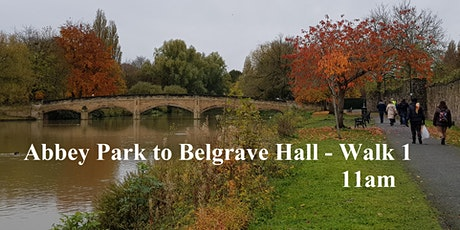 Abbey Park to Belgrave Hall - via the riverside and residential paths tickets