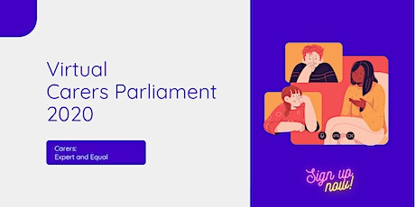 Carers Parliament 2020 - Workshop Session 4:  Youn tickets