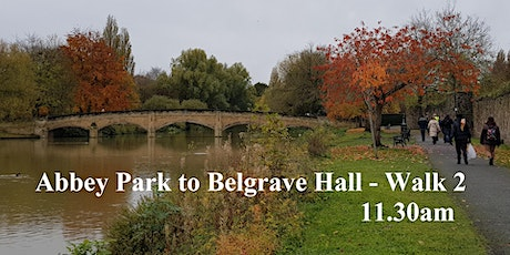 Abbey Park to Belgrave Hall  walk 2 - via the riverside & residential paths tickets