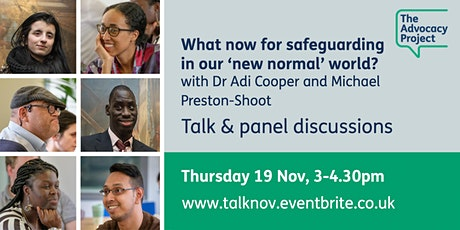 What now for safeguarding in our 'new normal' world? tickets