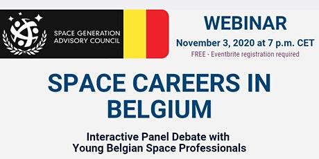 Space Careers in Belgium tickets