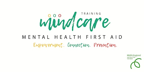 Mental Health First Aid Online - MHFAEngland qualification tickets