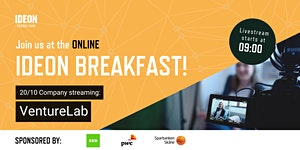 Ideon Breakfast Online with VentureLab